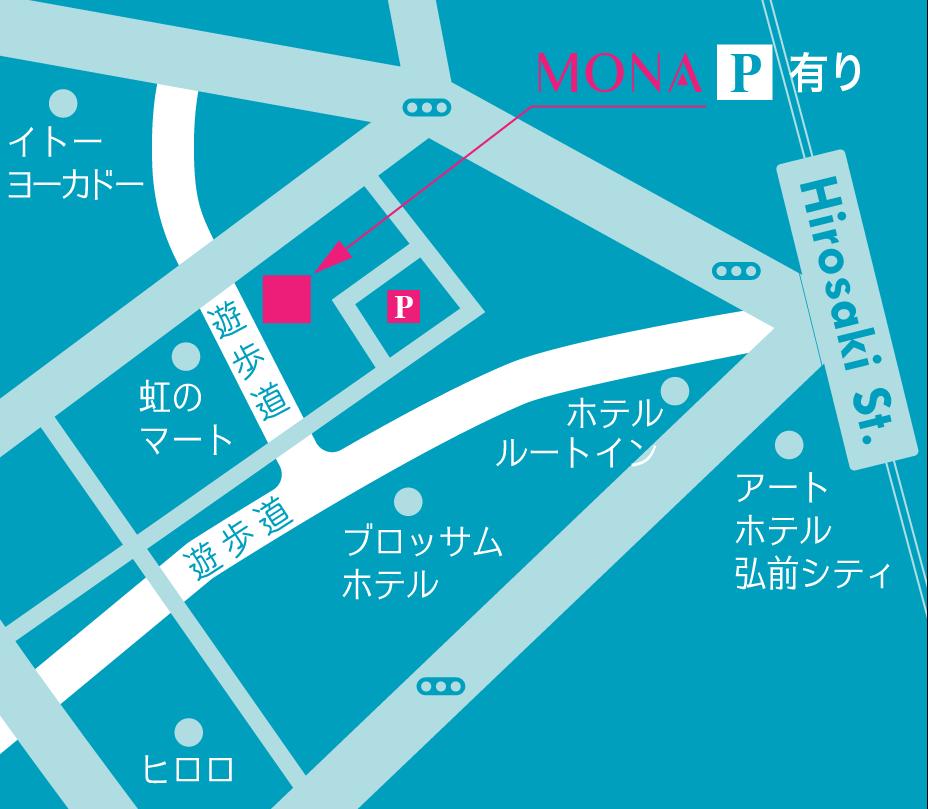mona|アクセスマップ