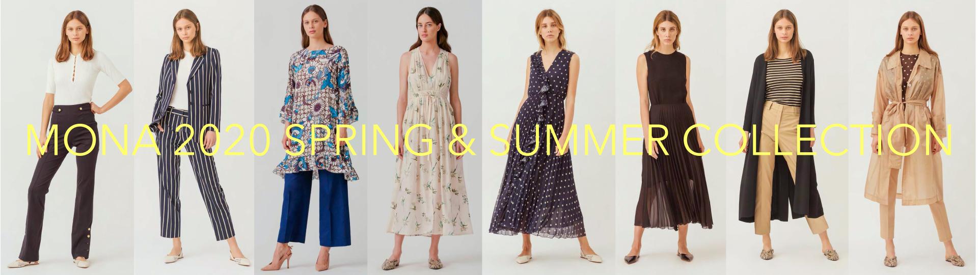 MONA 2020 春夏コレクション